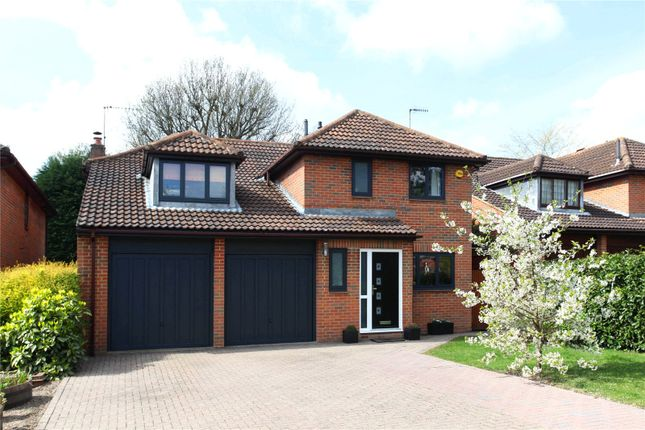 Thumbnail Detached house for sale in Vandyke Close, Redhill, Surrey
