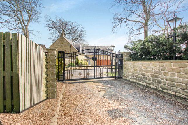 Gated Entrance of Farrer Lane, Leeds LS26
