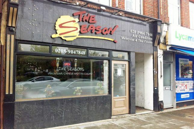 Restaurant/cafe for sale in Watford Road, Wembley