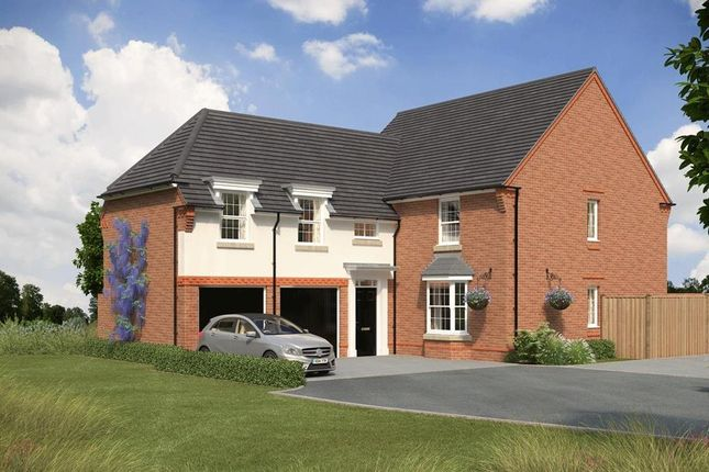 "Thumbnail Detached house for sale in ""Oulton"" at Stonnyland Drive, Lichfield"