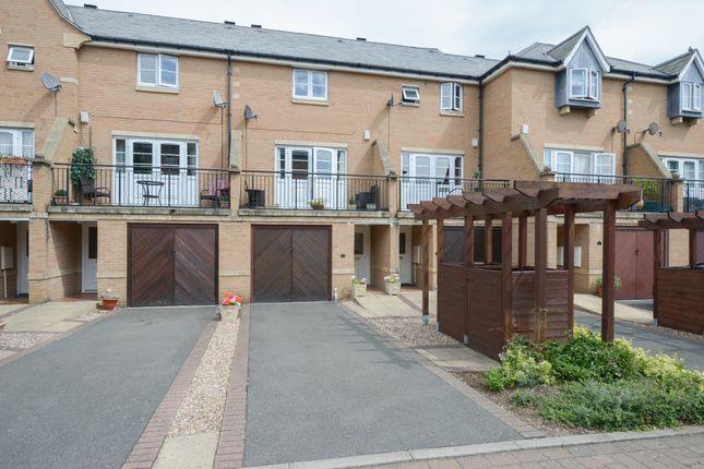 Thumbnail Town house for sale in Portland Close, Chesterfield