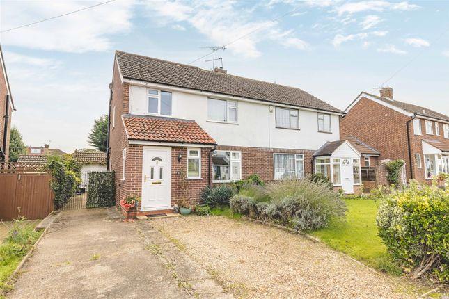 Thumbnail Semi-detached house for sale in Mills Spur, Old Windsor, Windsor