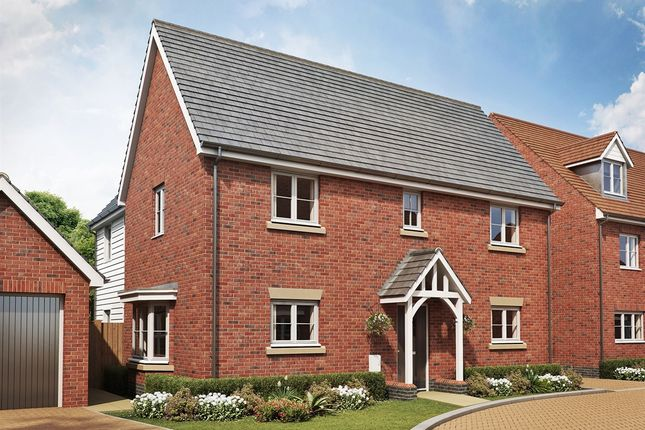 "Thumbnail Detached house for sale in ""The Copwood "" at Broad Street Green Road, Heybridge, Maldon"