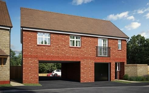Thumbnail Flat for sale in Coppice Close, Chippenham
