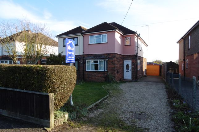 Thumbnail Semi-detached house for sale in Highfields Road, Witham