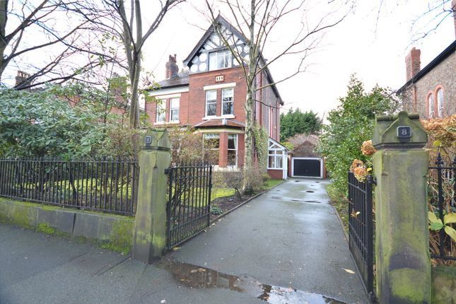 Thumbnail Detached house for sale in Knowsley Road, Cressington Park, Liverpool