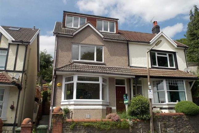 Thumbnail Semi-detached house for sale in Lan Park Road, Pontypridd