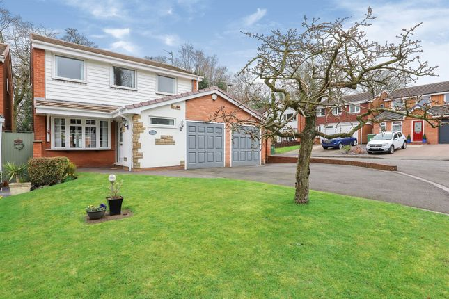 Thumbnail Detached house for sale in Lancaster Gardens, Penn, Wolverhampton