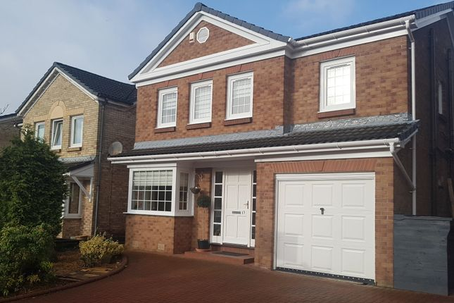 Thumbnail Detached house for sale in Martin Brae, Livingston
