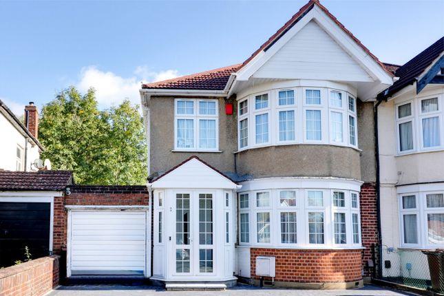 Thumbnail Semi-detached house to rent in Kenton Park Crescent, Kenton