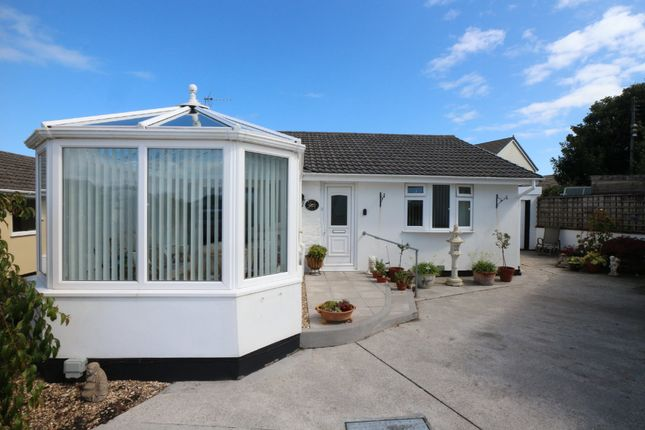 Thumbnail Detached bungalow for sale in Roseland Park, Camborne