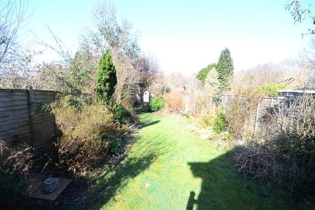 Garden of Prospect Road, Farnborough, Hampshire GU14