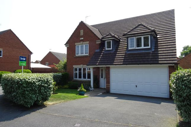 Thumbnail Detached house for sale in Sunningdale Road, Coalville, Leicestershire