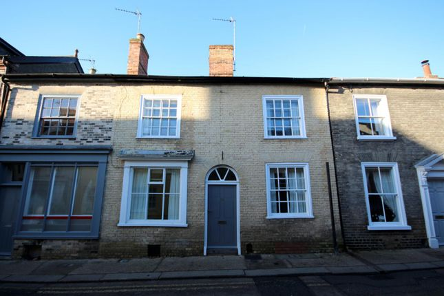 Thumbnail Terraced house to rent in Guildhall Street, Bury St. Edmunds