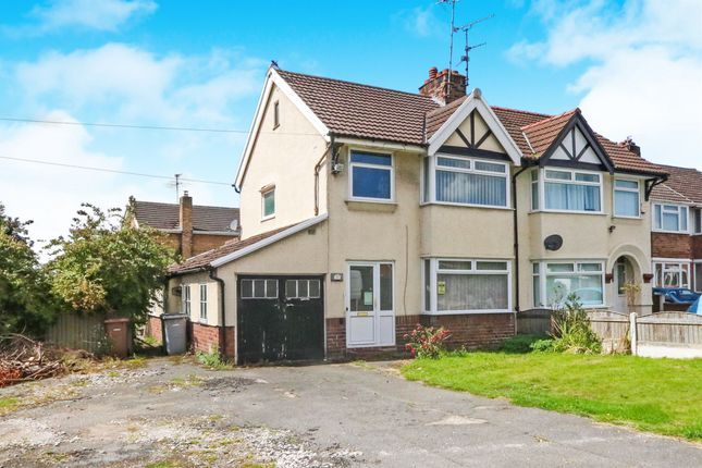 Thumbnail Semi-detached house for sale in Bridle Road, Eastham, Wirral