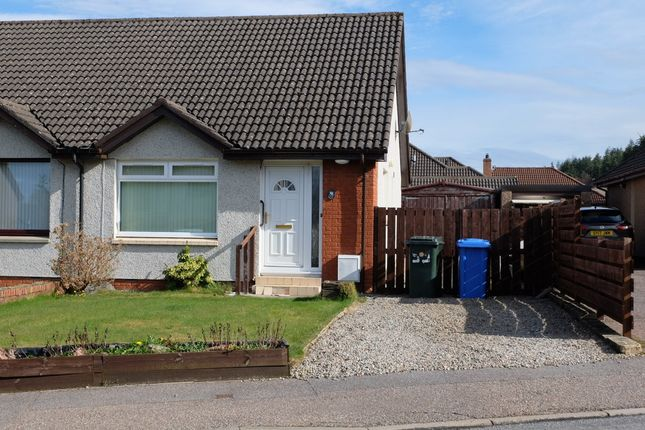 Thumbnail Semi-detached bungalow for sale in Lochlann Road, Culloden, Inverness