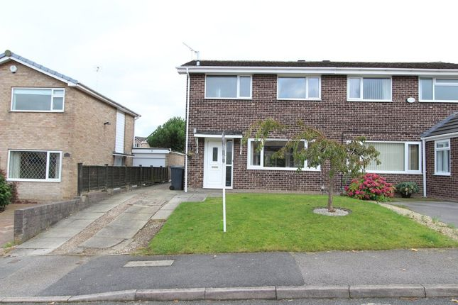 Thumbnail Semi-detached house for sale in Ashford Road, Dronfield Woodhouse, Dronfield