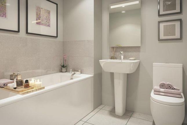 """Bathroom of """"Boundary Court"""" at Cricket Field Grove, Crowthorne RG45"""
