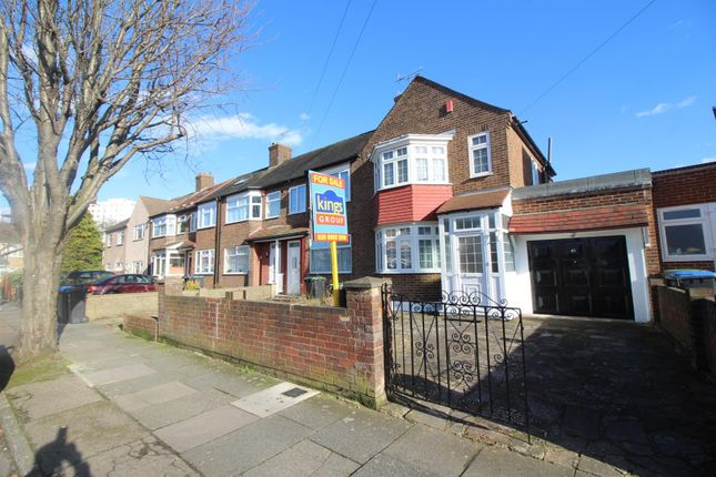 Thumbnail End terrace house for sale in Durants Park Avenue, Ponders End, Enfield