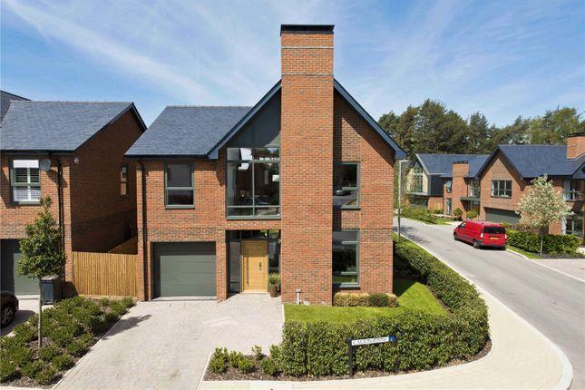 Thumbnail Detached house for sale in The Elsenham, Upper Longcross, Chobham Lane, Surrey