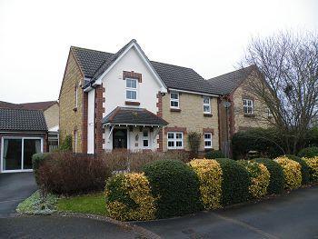 Thumbnail Detached house to rent in Honeysucke Close, Trowbridge, Wiltshire