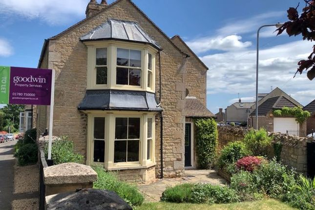 Thumbnail Detached house to rent in Empingham Road, Stamford