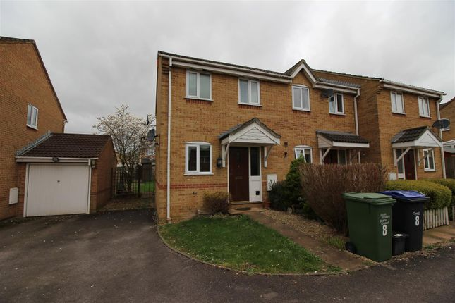 Thumbnail End terrace house for sale in Cheltenham Drive, Chippenham