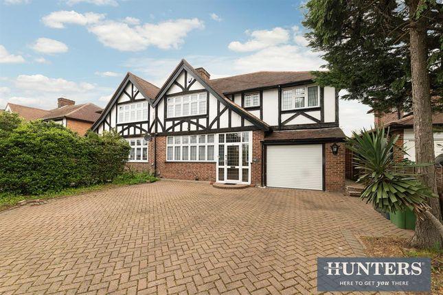 Thumbnail Semi-detached house for sale in Malden Road, Worcester Park