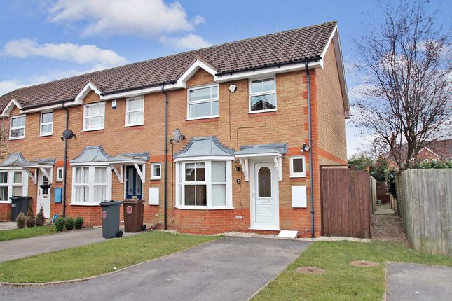 Thumbnail End terrace house for sale in Witham Croft, Solihull