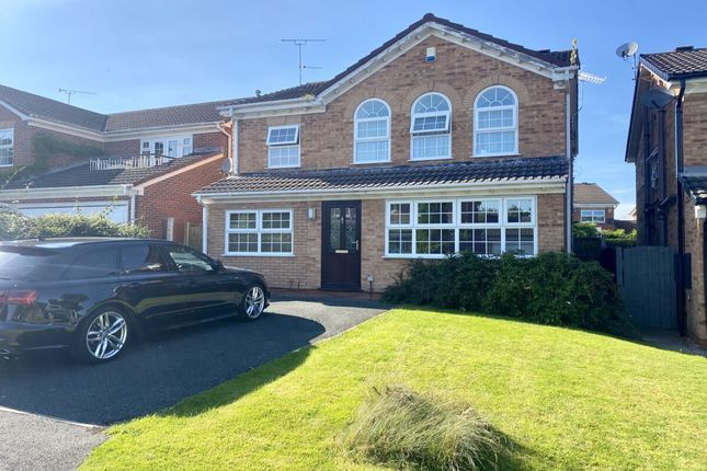 Thumbnail Detached house for sale in Petworth Close, Wistaston, Crewe