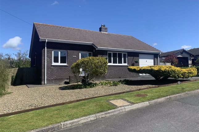 Thumbnail Detached bungalow for sale in Maes Y Mor, Newquay, Ceredigion