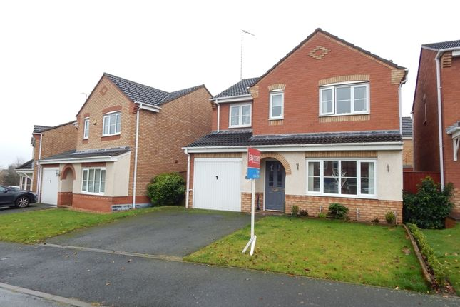 Thumbnail Detached house to rent in Chester Road, Rugeley