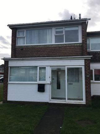 Thumbnail Terraced house to rent in Willow Crescent, Blyth