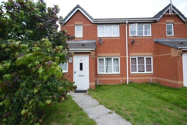 Thumbnail Terraced house to rent in Primary Close, Cadishead, Manchester