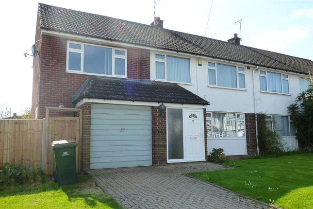 Thumbnail Semi-detached house to rent in Knoll Drive, Stivichall, Coventry, West Midlands