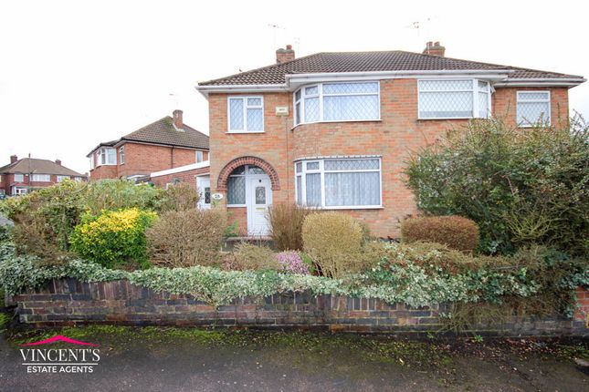 Thumbnail Semi-detached house for sale in Crowhurst Drive, Leicester