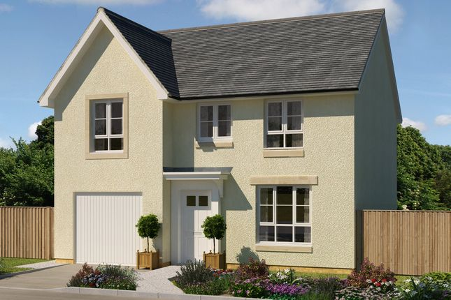 "Thumbnail Detached house for sale in ""Delgattie"" at Oldmeldrum Road, Inverurie"