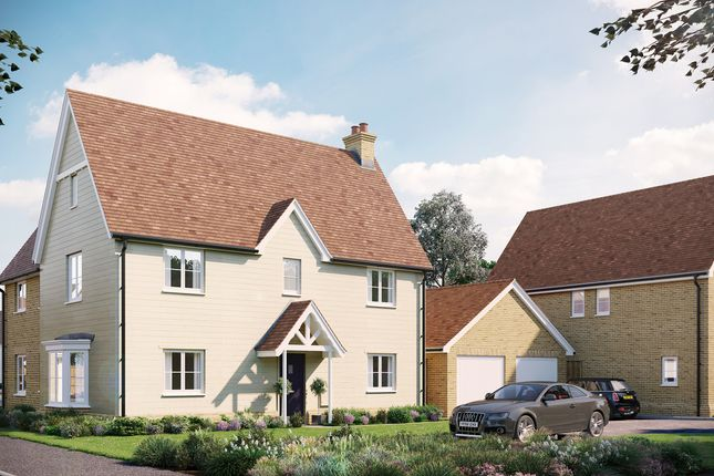 Thumbnail Detached house for sale in The Washington, Eastwood, Gardiners Park Village, Basildon, Essex