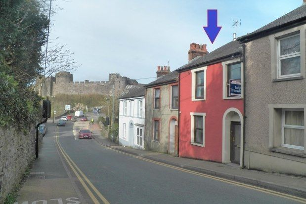 Thumbnail Terraced house to rent in Bridgend Terrace, Pembroke