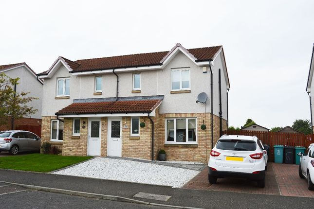 Thumbnail Semi-detached house for sale in Bluebell Wynd, Wishaw