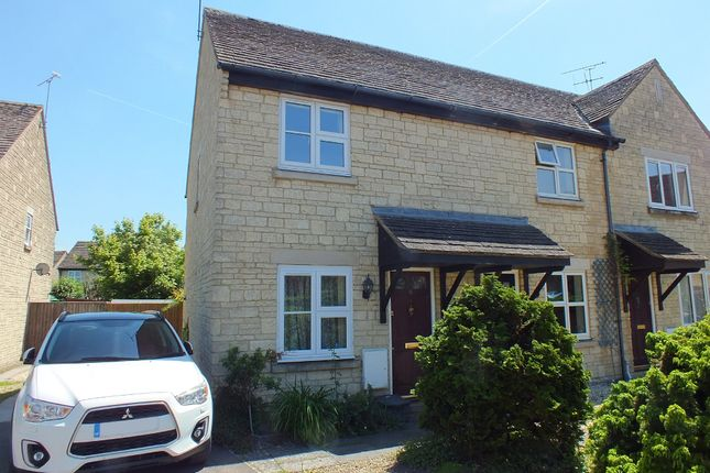 Thumbnail End terrace house for sale in John Tame Close, Fairford