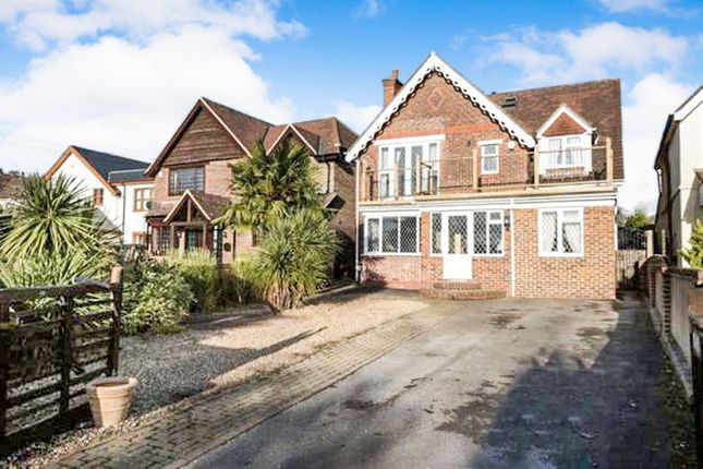 Thumbnail Detached house for sale in Romsey Road, Nursling, Southampton
