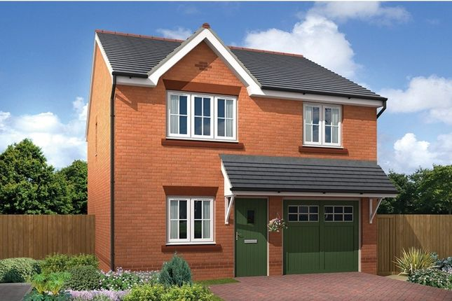 "Thumbnail Detached house for sale in ""Marford"" at Chester Lane, Saighton, Chester"