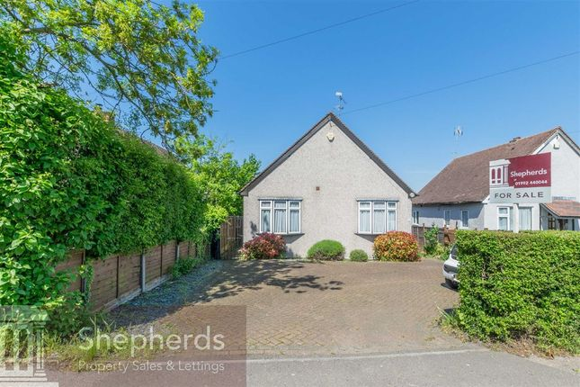 Thumbnail Detached bungalow for sale in Broadley Terrace, Common Road, Nazeing, Essex