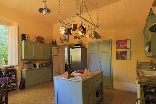 Kitchen of Villa Prosperini, Calzolaro, Citta di Castello, Umbria