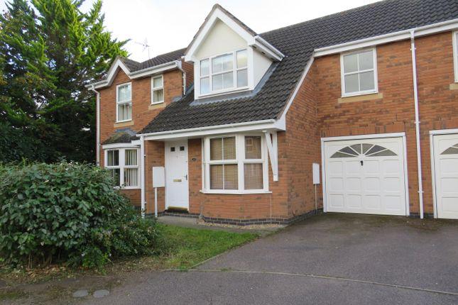 Thumbnail Terraced house to rent in Moorhen Way, Buckingham