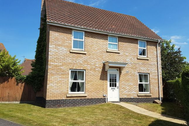 Thumbnail Detached house to rent in Rushton Drive, Carlton Colville, Lowestoft