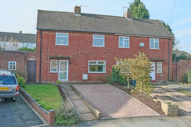 Thumbnail Semi-detached house for sale in Collis Close, Charford, Bromsgrove