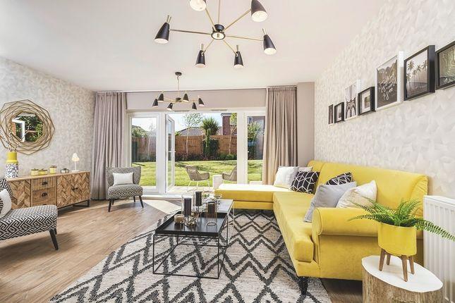 Living Room of De Burgh Gardens, Tadworth KT20