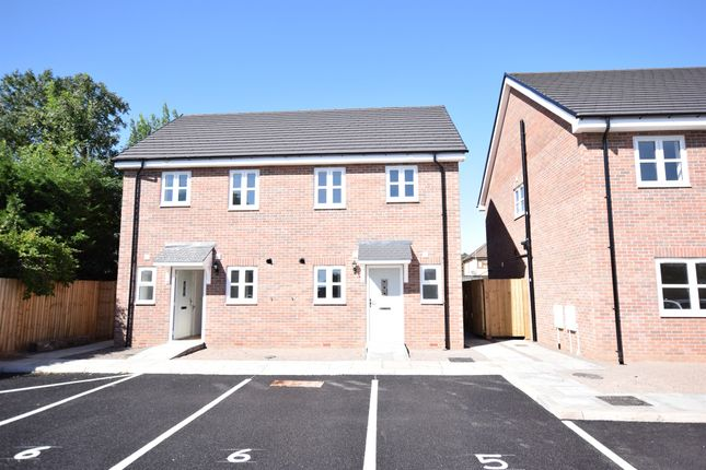 Thumbnail Semi-detached house for sale in Liswerry Road, Newport